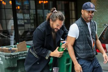 Jason Momoa Coronavirus Meme Has Hand-Washers In A Frenzy