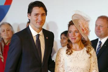 Justin Trudeau & Wife Isolate After She Tests Positive For Coronavirus