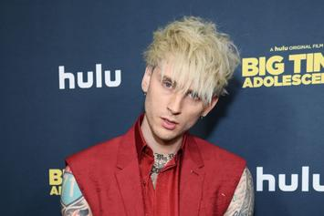 "Machine Gun Kelly Explains Person He ""Kissed"" In Video Was A Blunt"