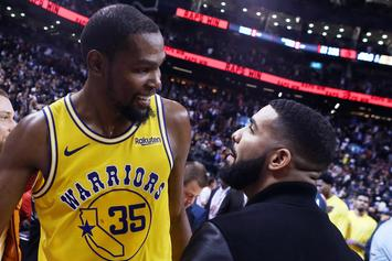 Drake Fans Fear He May Have Caught Coronavirus From Kevin Durant