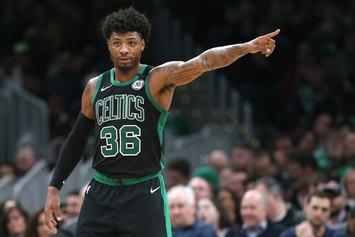 Marcus Smart Issues Statement After Testing Positive For COVID-19