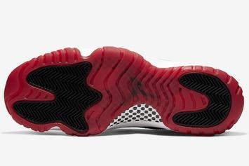 "Air Jordan 11 Low ""Bred Concord"" Release Date Changed: Photos"