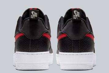 """Nike Air Force 1 Low Receives """"Bred"""" Makeover: Photos"""
