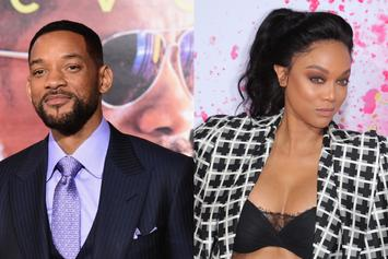 "Will Smith & Tyra Banks Bond Over Iconic ""Fresh Prince"" Scene"