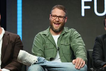 "Seth Rogen Has Been Quarantining With An ""Ungodly"" Weed Stash"