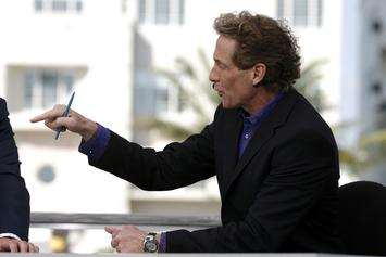 """Skip Bayless Hates On LeBron Following """"The Last Dance"""" Debut"""