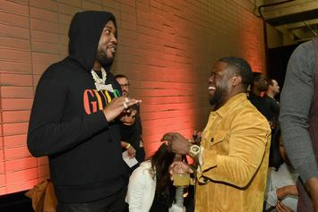 Meek Mill's Throwback Photo Destroyed By Kevin Hart