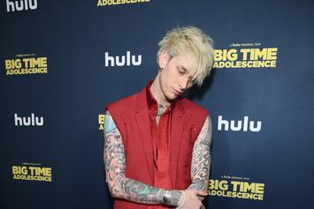 Machine Gun Kelly Sings Rihanna After Marilyn Manson's Odd Request
