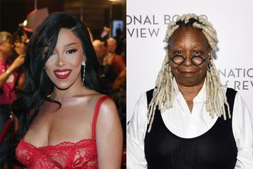 Doja Cat Freaks Out Meeting Whoopi Goldberg, Who Knows Her Absent Dad