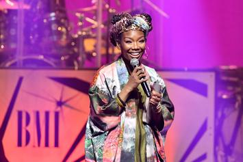 """Brandy Teases Her Return With """"Baby Mama"""" Single Featuring Chance The Rapper"""