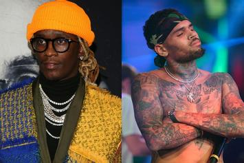 """Young Thug & Chris Brown's """"Slime & B"""" Has Fans Thrilled"""