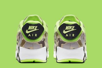 "Nike Air Max 90 ""Volt Duck Camo"" Coming Soon: Official Photos"
