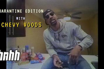 Chevy Woods' Quarantine Snack Stash Is Lit