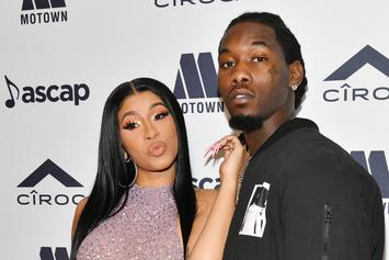 Offset & Kulture Look Identical In Cardi B's Latest Post