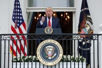 Donald Trump Says U.S. Will Not Close During A COVID-19 Second Wave