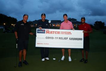 Peyton Manning & Tom Brady's Golf Match Earned $20 Million For COVID-19 Relief