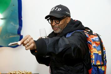 Spike Lee Joins Police Brutality Protesters In Brooklyn