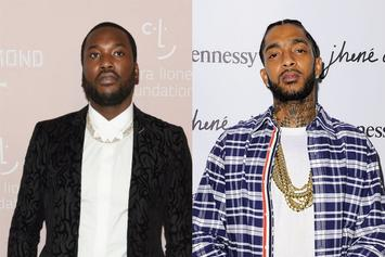Nipsey Hussle Was Supposed To Be On Meek Mill's New Protest Song
