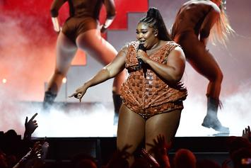"""Lizzo Slams """"Fat Shamers"""" With Workout Video: """"Worry About Your Own Body"""""""
