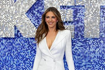 Elizabeth Hurley Celebrates 55th Birthday Naked In Bubble Bath
