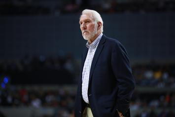 """Gregg Popovich Labels Roger Goodell & NFL Owners As """"Hypocritical"""""""
