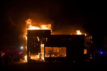 Protesters Set Fire To Wendy's Where Rayshard Brooks Was Killed