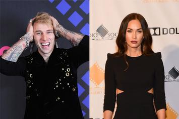 Machine Gun Kelly & Megan Fox Spotted Kissing