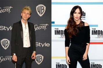 """Machine Gun Kelly Says He's """"In Love"""" During Picnic Date With Megan Fox"""