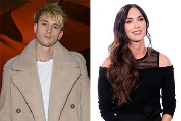 Machine Gun Kelly & Megan Fox's Relationship Heats Up As She Stays The Night