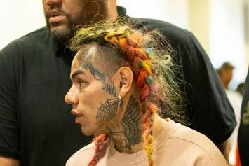 Tekashi 6ix9ine's New Hair Look Is Even Crazier Than The Last
