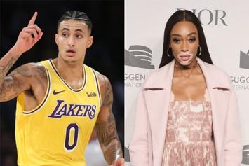 Kyle Kuzma Fondles Winnie Harlow's Breasts In NSFW Photo