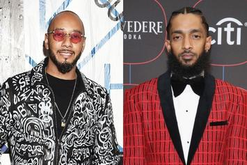 Swizz Beatz Remembers Bonding With Nipsey Hussle Over Their Love Of Art