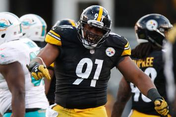 """Stephon Tuitt Of The Steelers Says He's """"Not Kneeling For The Flag"""""""
