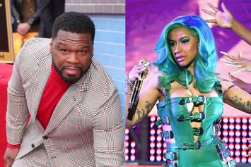 """50 Cent Loves Cardi B & Megan Thee Stallion In Their G-String Thongs: """"Sexiest Cover Ever"""""""