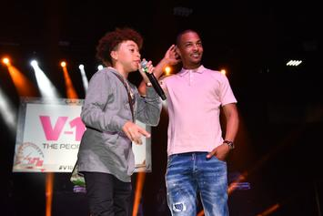 T.I. Catches 15-Year-Old Son King Smoking Weed
