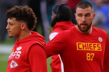 Patrick Mahomes Reacts To Travis Kelce's Massive New Contract
