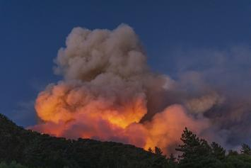 Tornado Of Fire Spotted In California During Wildfire