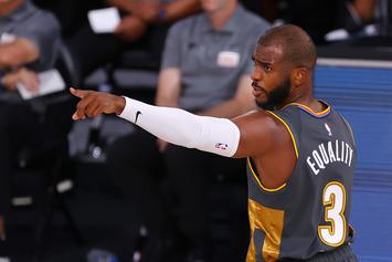 Chris Paul Reacts To Playing Former Team In First Round