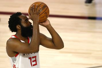 James Harden Reacts After Rockets' Late-Game Collapse