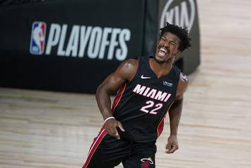 Heat Troll 76ers' Sweep From The Playoffs With Jimmy Butler Post
