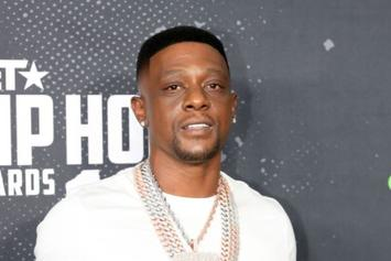 Boosie Badazz Coaches Young Daughter As She Drives Lambo While Sitting On His Lap