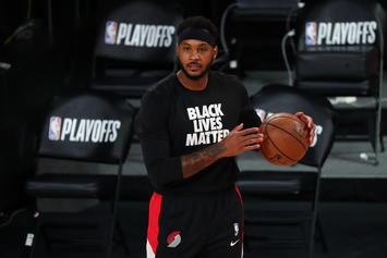 Carmelo Anthony Reveals Details From NBA Players' Meeting