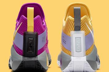 """Nike LeBron Soldier 14 """"Lakers"""" Coming Soon: Photos"""