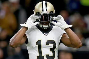 Michael Thomas To Miss Monday Night Game Due To Ankle Injury