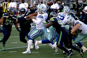 Cowboys DT Trysten Hill Fined $13K For Two Hits Against Seahawks