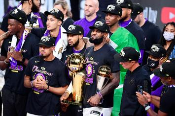 Lakers Win 2020 NBA Championship, LeBron James Named Finals MVP