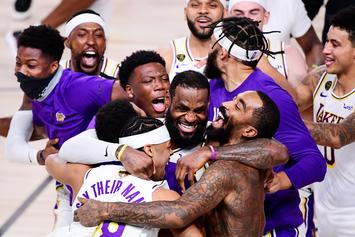 LeBron James & Lakers Win NBA Title, NBA Players React