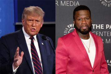 """50 Cent Reacts To Trump's Ridiculous """"YMCA"""" Dance"""