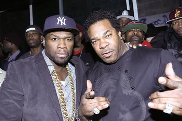 "50 Cent Trolls Busta Rhymes' ""Before"" Weight Loss Pic"