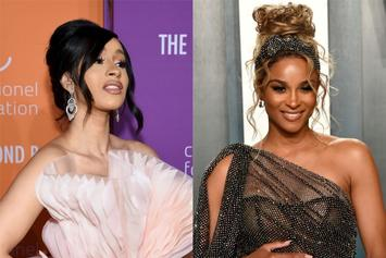 Cardi B Reacts To Ciara & Little Future's Halloween Costumes